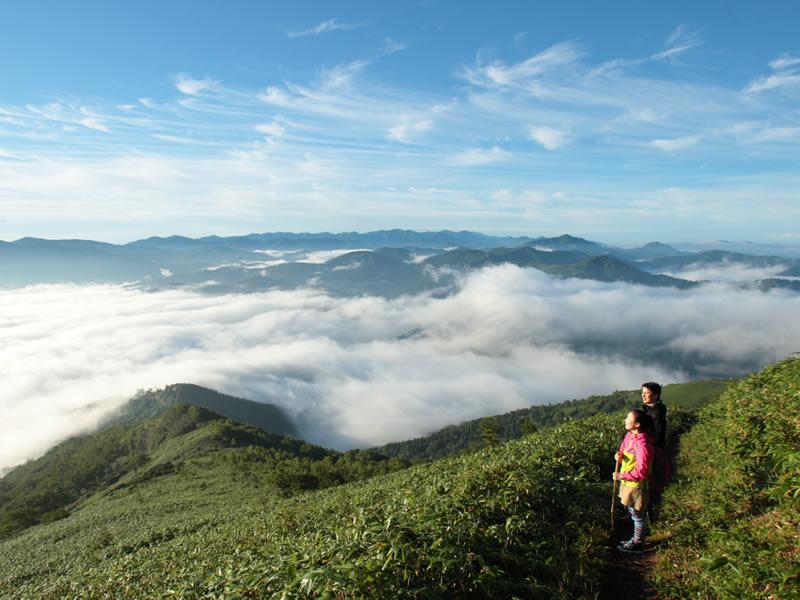 トマム山登山
